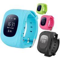 Q50 relógios inteligentes crianças localizador GPS localização SOS chamada de crianças eletrônicas