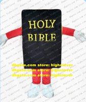Bíblia Bíblia Bíblia Mascot Traje Adulto Cartoon Personagem Outfit Terno Anual Celebração Pais-Criança Campanha ZZ8300