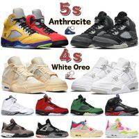 Popularr 5 5s Basketbol Ayakkabı Erkekler Kadınlar alternatif üzüm hiper kraliyet 2006 Eğitmenler Alternatif Bel yelken siyah tülbent Sneake xwhite