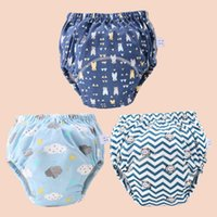 Baby Reusable Cloth Diaper Ecological Potty Training Pants Diapers For Children Panties Cotton Waterproof Nappy Newborn Washable 1564 Y2
