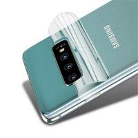 Cep Telefonu Ekran Koruyucuları 10 adet Geri Tam Kapak Hidrojel Film Galaxy S9 S8 S10 Artı Koruyucu Not 8 9 10 S10E Cam