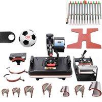 آلات نقل الحرارة مجانا 12x15 بوصة كومبو 15 في 1 قميص splimationt آلة الصحافة لطباعة تي شيرت / حالة الهاتف / غطاء / لغز / لوحة الماوس / لوحة المفاتيح NBIW