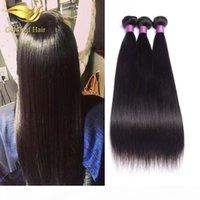 Wholesle-Preis Unverarbeitet Brazialiann Straight Haiir 1 stück Haarwablett Malaysian Haar Peruanische indische Seide Gerade Menschliche Haarverlängerungen