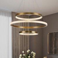 Pendant Lamps Nordic Glass Ball Iron Chandelier Ceiling Lighting Modern Led Lampes Suspendues Bedroom Hanglampen
