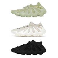 Mit Box Resin Kanye 450 Herren Laufschuhe Cloud White Dark Slate knit atmungsaktiv alle schwarz 450s Herren Damen Trainer Outdoor Sport Sneakers Chaussure 36-46