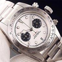 Top Venta Mans de alta calidad Mans Reloj Japón VK Relojes de movimiento de cuarzo Cronógrafo luminoso Cuerpo de acero inoxidable completo Todo el trabajo de dial 100M A prueba de agua Reloj de pulsera Montre de Luxe