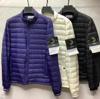 Men's down jacket winter fashion casual lightweight slim warm couple jacket
