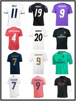2016 2017 2018 2019 2020 2021 Real Madrid Футбол Джерси 16 17 18 19 20 21 22 Bale Benzema Модрические Ретро Футбольные Рубашки ISCO Maillot Sergio Ramos Ronaldo CamiSeta