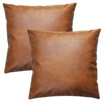 Наборы наволочки бросить чехол-современный коричневый декоративный (только для дивана-кровати) 18x18