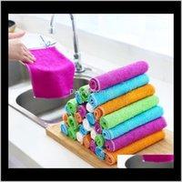 الملابس السحرية تنظيف القماش الخيزران الألياف متعددة الأغراض nonstick النفط منشفة المنزل نظيفة أداة المنزلية أداة المطبخ اكسسوارات CXAH3 6HBPC