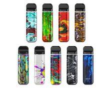 Kit authentique Smok No Novo 2 Cigarettes 25W 800mAh Batterie 2ml Cartouches de Vape avec maille 1.0OHM / DC 1.4OHM MTL