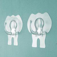 투명 강한 자기 접착 문 벽 옷걸이 후크 가정 주방 욕실 FWF7044에 대 한 만화 흡입 컵 빨판