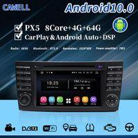 Cawell Android10 PX5 4G 64G HeadUnit 자동차 DVD Radio Player DSP Carplay 8 Class E W211 W219 Navigation GPS 용 코어 ADAS
