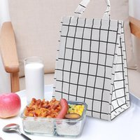 Storage Bags Lunch Bag Thickened Waterproof With Rice Cold Portable Box Picnic For Men Women Kids Travel Lunchbox