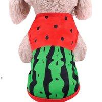 Wassermelonenhundhemd Billig Hundekleidung Für kleine Hunde Sommer Chihuahua T-shirt Nette Welpen Kostüm Weste Haustier Kleidung BWE8632