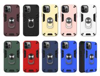 360 Rotatable Ring Kickstand Phone Cases for iphone 13 pro max 11 12 mini XS XR 6G 7G 8G Shockproof Magnet Hybrid Cover