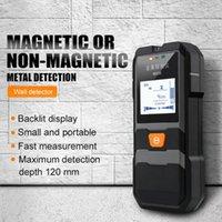 Metal Detectors Detector LCD HD Display Beep Black Backlit Cable Wires Depth Tracker Wood Finder Stud Sensor Handheld Wall Scanner