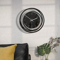 Wall Clocks Creative Home Decoration Acrylic Clock Minimalist Nordic Style Transparent Silent