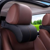 Seat Cushions Car Pillow Head Rest Neck Safety Cushion Support Pad Memory Cotton Travelling Styling Accessory
