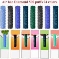 Air Bar Diamond Disposable Vape E Cigarette Vap Pen Pod Device 380mah Pods 500 puffs Dab Starter Kit Vs bang Duo Puff XXL Mask King