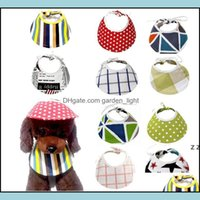 Dog Supplies Home & Gardendog Bandana Bibs Pet Neckerchief For Dogs Mtifunctional Collapsible Hat Apparel Aessories Puppy Scarf Hwa6362 Drop