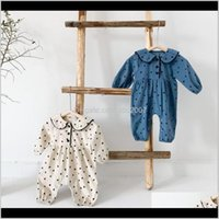 Jumpsuits&Rompers Clothing Baby, & Maternityins Baby Kids Spring Fall Long Sleeve Climbing Corduroy Boy Girl Romper Elegant Rompers 0-2T Drop
