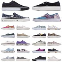 44 DX Old Skool Sneakers Classic Canvas Slip On Men Donne Scarpe casual Bianco Paura di Dio Skate Skateboard Piattaforma Mens Trainer Sueose Vulcanized