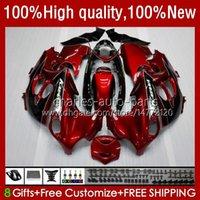 Bodys For SUZUKI KATANA GSXF600 GSX750F GSXF-600 03-07 33No.21 GSXF 600CC 750CC 750 600 CC 2003 2004 2005 2006 2007 GSX600F GSXF750 03 04 05 06 07 Fairing wine red