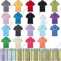 Laco Coccodrillo Piccolo logo Mens T Shirt 19 Colori Alta qualità Brand TEE taglia S - 6XL Casual Street Tees Fashion Hombre Designers Men S Abbigliamento