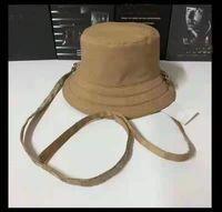 Moda Klasik Mektup Toptan Çift Taraflı Güneş Kova Koruma Balıkçılık Yüksek Kalite Tek Renkli Yaz Şapka
