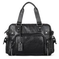 Duffel Bags WeysFor Vogue Saco de Viagem Bolsas De Couro Homens Casual Tote Para Homens Grande Capacidade Ombro Portátil Grande Pacote XA214ZC