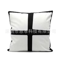 7 Designs Christmas Sublimation Blank Pillow Case Throw Cushion Cover Decor Thermal Heat Printing Pillowcases DIY Wedding Birthday Party Ornament Gift H72LA6Y