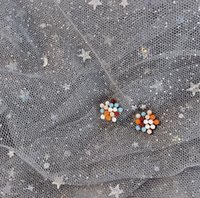 Apply Sweet Girl Heart Fashion Color Stud Earrings Daily Wild Silver Earrings Simple Earrings Jewelry wjl4417