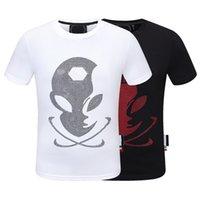 PP Erkekler T Gömlek İlkbahar ve Yaz Erkek T-Shirt Ceketler Yüksek Sınıf Pamuk Kısa Kollu Yuvarlak Boyun Gömlek Tops Lüks Tişört Boyutu Boyutu: M L XL XXL 3XL Top1