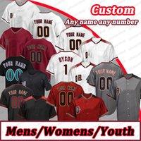 Mens Jersey Custom 51 Randy Johnson 56 Kole Calhoun Madison Bumgarner Baseball Ketel Marte Roberto Clemente Ahmed Jersey