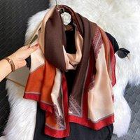 Schals 2021 Frauen Herbst Viskose Schal Aztek Patchwork Lange Pashminas Wrap Stolische Bufandas Muslim Soft Tuch 180 * 90 cm