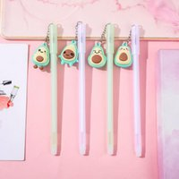 Gel Pens Creative Avocado Pendant Pen Small Fresh And Cute Student Office Fountain Sign Learning Stationery