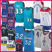 Grant Hill Penny Russell Hardaway صهيون Westbrook Williamson كرة السلة جيرسي واشنطن أورلاندو معالجات ماجيك جديد ديترويت أورليانز بيستونز البجع