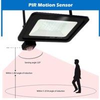 Menschlicher Körpersensor Outdoor Beleuchtung Blei Flutlicht IP66 Wasserdichte 10 ~ 300W PIR Induktion Helle Lampe Intelligente Bewegungssensoren Wand LED Licht Innenhof Garage
