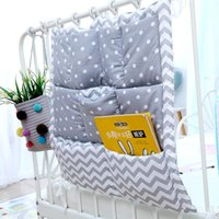 Bedding Sets Baby Bed Hanging Storage Bags Cotton Born Crib Organizer Toy Diaper Pocket For Set Accessories Nappy Nursing Bag