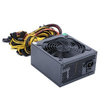 Computer Cables & Connectors 2400W PC Power Supply For Mining ATX ETH Machine Support 8 Display Cards GPU 2600W Max Miner
