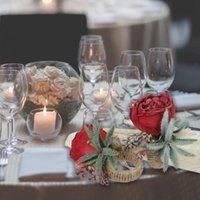 Anillos de servilleta 2pcs anillo decorativo romántico simulación duradera de larga duración flor de la hebilla de servilleta para bodas