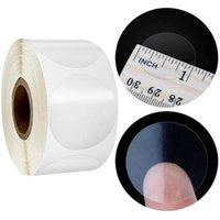 Bolsas De Jóias, Sacos 500 Pcs Um Rolo Rodada PVC PVC Etiqueta Transparente Scrapbooking Para Pacote e EvenLope Etiquetas Etiquetas Claras Sproo