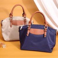 Bag 2021 new fashion hand-held women's bag Oxford cloth one shoulder cross-over versatile bag