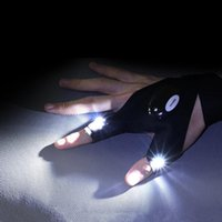 Flashlights Torches Night Light Waterproof Fishing Gloves With LED Rescue Tools Outdoor Gear Cycling Practical Durable Fingerless