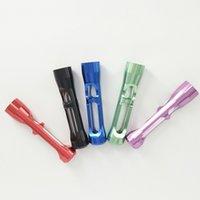 E-cig Accessori Accessori originali Prometheus Pyptk Nano Tobacco Tubo Portatile Metal Tubo Metal Smoke Fumo Colors