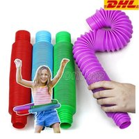 Tubi colorati di grandi dimensioni provette sensoriali giocattoli giocattoli per bambini strumenti per tubi per giocattoli da stress e rilievo d'ansia adatti per bambini adulti