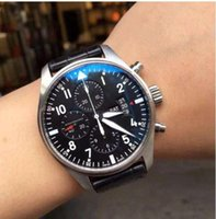 2020 New Fashion Mechanical Men's Stainless Steel Automatic Movement Watch luxury mens Self-wind Watches Wristwatches Black Leather I14