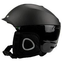 Halten Sie den warmen Skate-Ski-Helm erwachsener Snowboard-Gloggle-Sportsicherheit integral geformter Ski-Schneehelme
