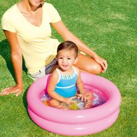 Pool & Accessories Kids Inflatable Child Home Use Paddling Bubble Bottom Round Basin For Baby Ocean Ball Bathtub